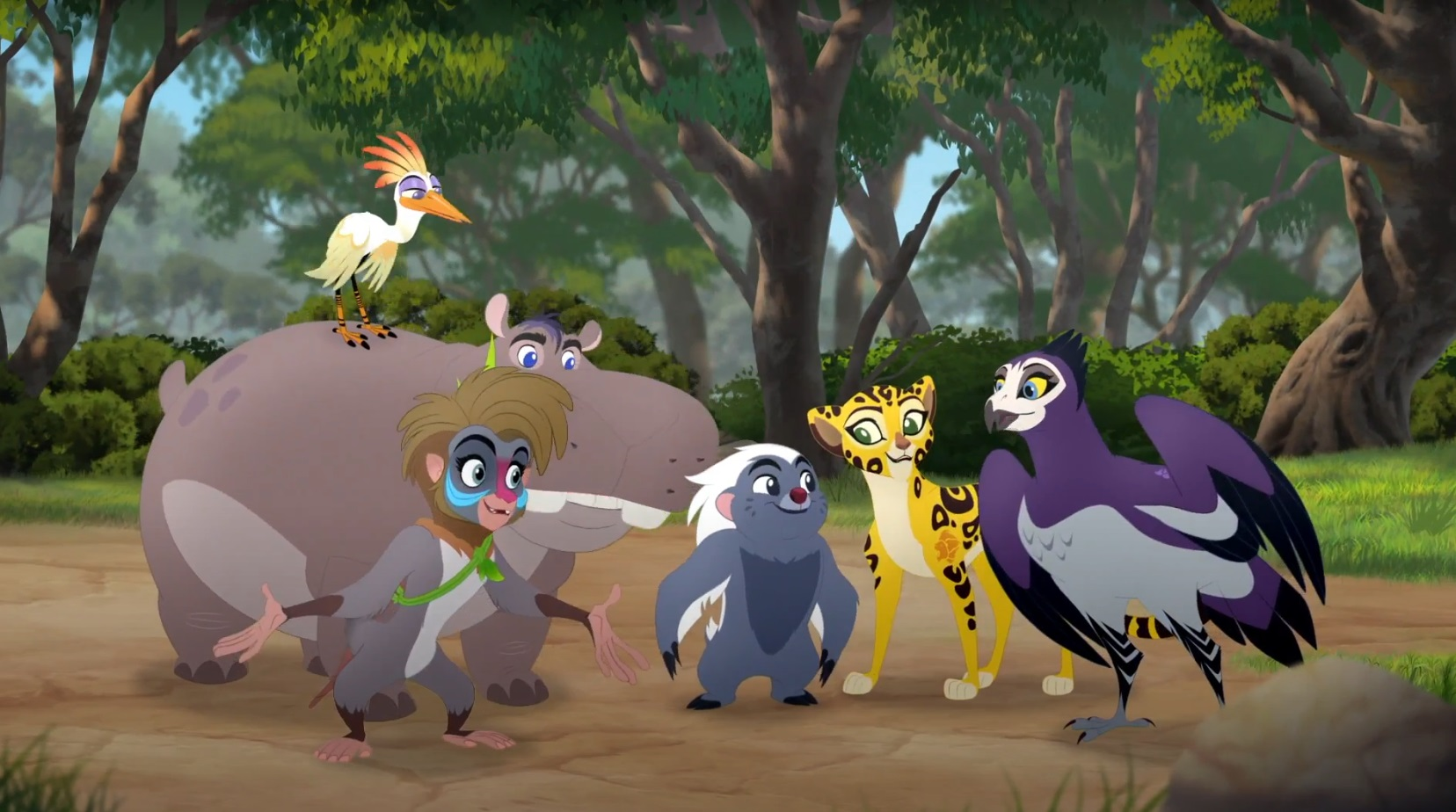 Friends To The End Song The Lion Guard Lyrics Season 3 Soundtrack
