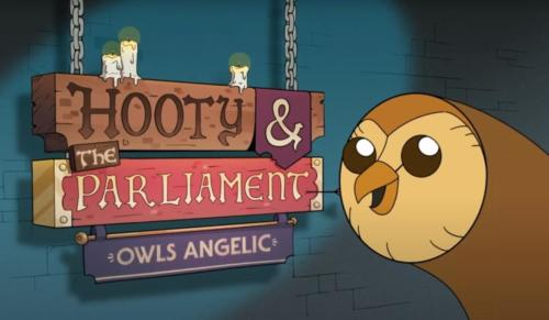 Hooty and the Parliament Owls Angelic