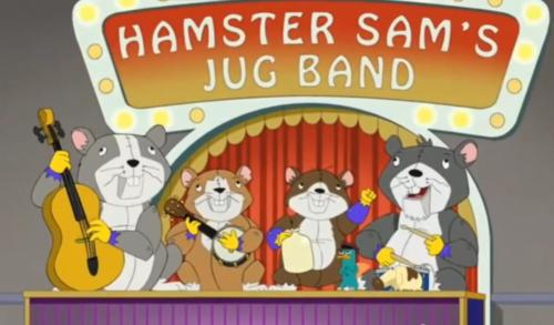The Harry Hamster Band Song